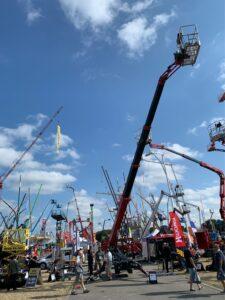 MEWPs on display at Vertikal Days 2021