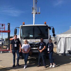 Warren Access showcase CTE truck mounted platform
