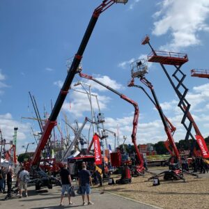 Vertikal Days 2021 - MEWPs on display